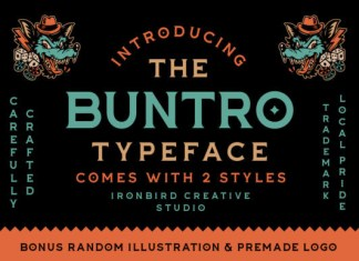 The Buntro Font