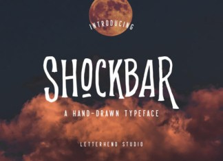 Shockbar Font