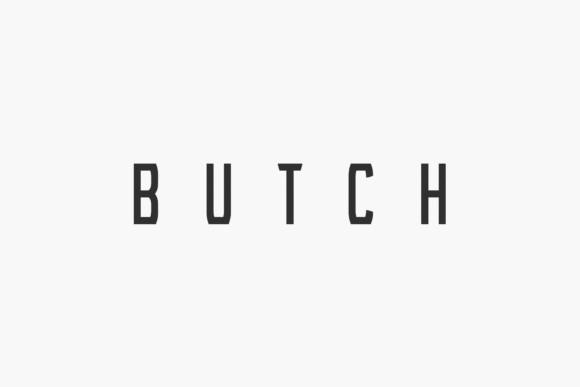 Butch Font