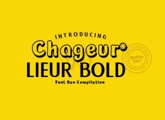 Chageur & Lieur Font
