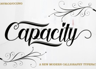 Capacity Font