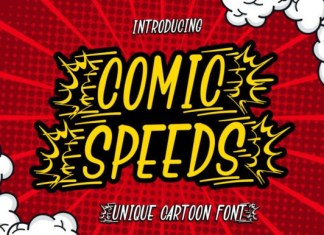 Comic Speeds Font