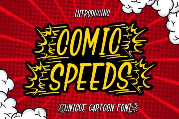 Comic Speeds Font