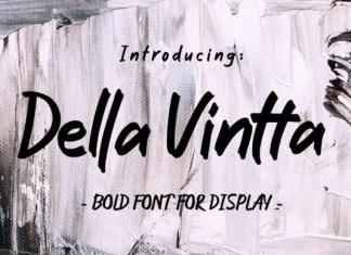 Della Vintta Font