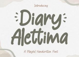 Diary Alettima Font