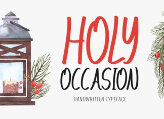 Holy Occasion Font