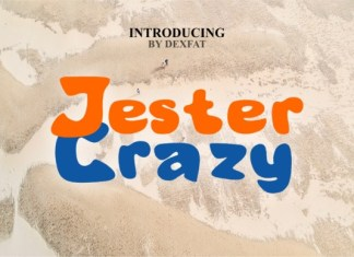 Jester Crazy Font
