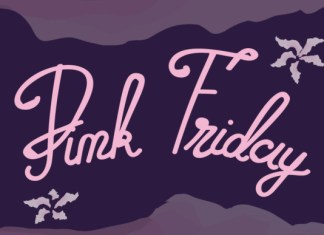 Pink Friday Font