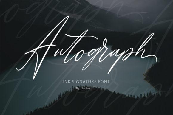 Autograph Font