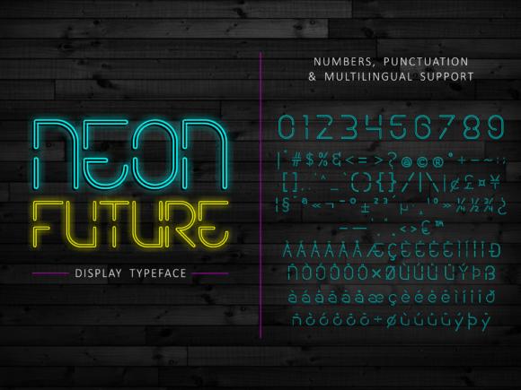 Neon Future Font