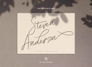 Steven Anderson Font