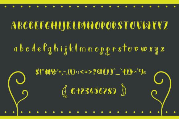 Sugarsnaps Font