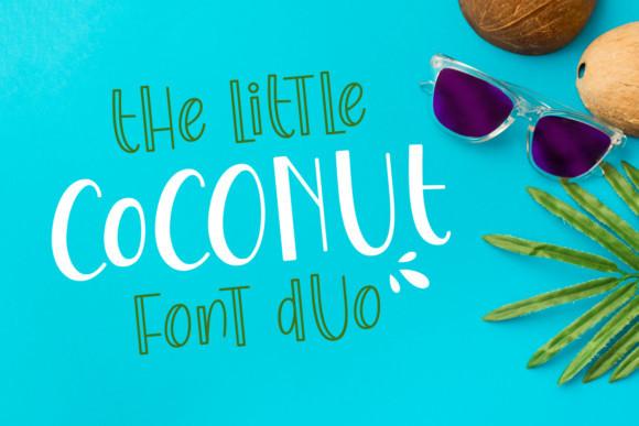 The Little Coconut Font