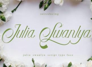 Julia Swanlya Font
