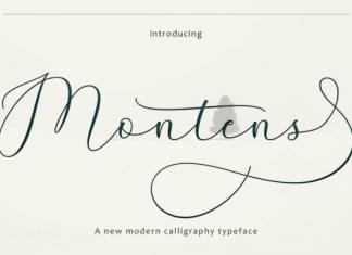Montens Font