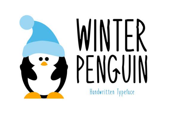 Winter Penguin Font