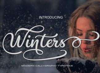 Winters Font