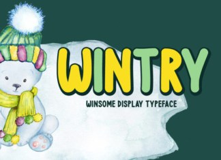 Wintry Font