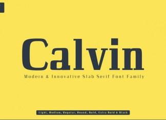 Calvin Font
