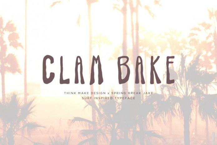 Clam Bake Font