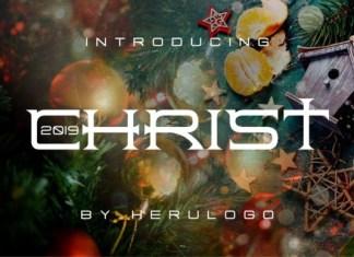 Christ Font