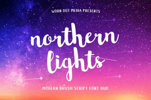 Northern Lights Font