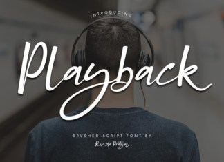 Playback Font