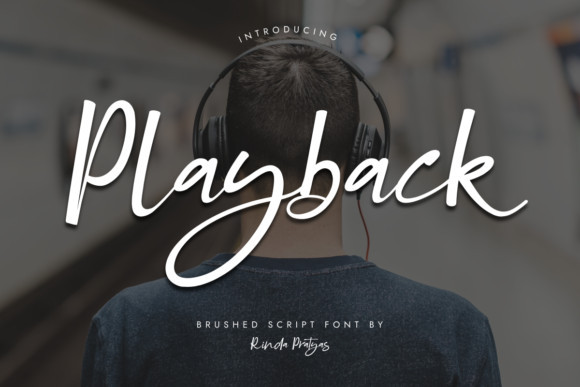 Playback Font