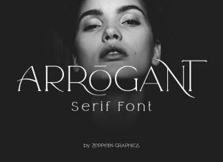 Arrogant Font