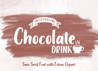 Chocolate Drink Font