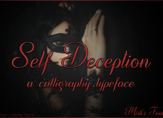 Self-Deception Font