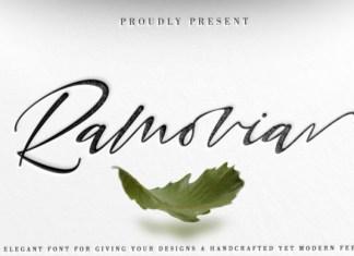Ramovia Font