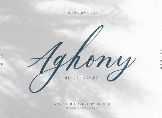 Aghony Font