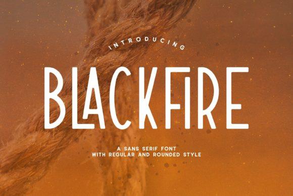 Blackfire Font