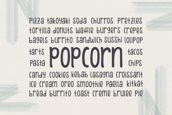 Winter Poppins Font