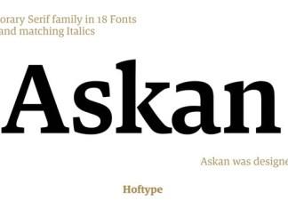 Askan Font