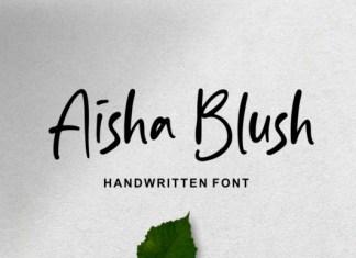 Aisha Blush Font