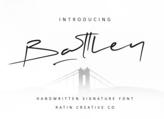 Battley Font