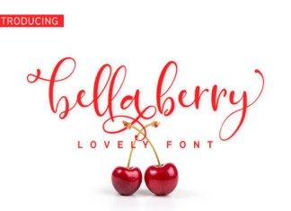 Bella Berry Font
