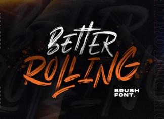 Better Rolling Font