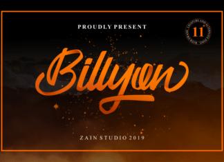 Billyon Font