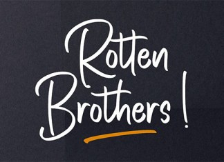 Rotten Brothers Font