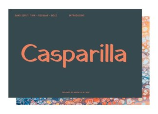 Casparilla Font