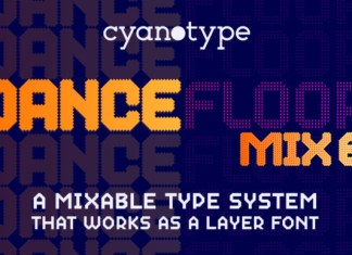 Dance Floor Mix 6 Font