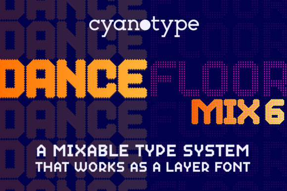 Dance Floor Mix 7 Font