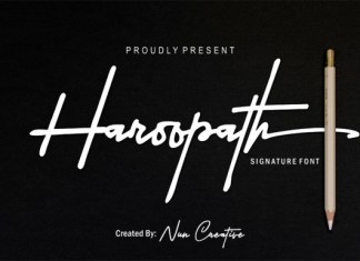 Haroopath Font