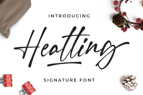 Heatting Font