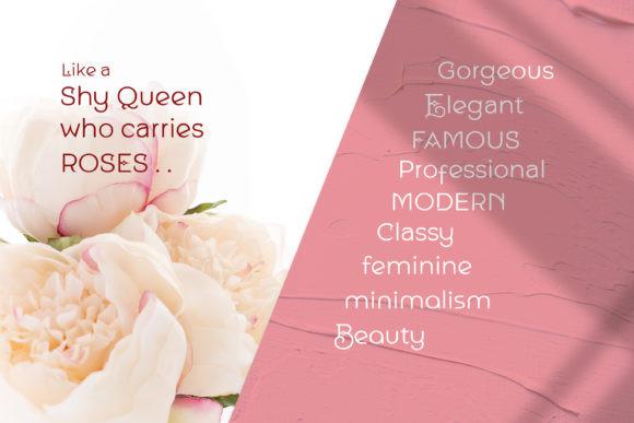 Queen Shy Font