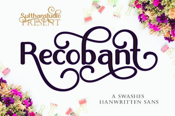 Recobant Font
