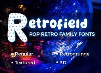 Retrofield Font
